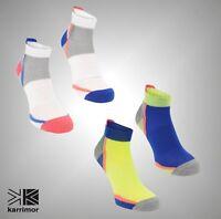 2 Pack Mens Karrimor DRX Fabric Running  Support Socks Size 7-11