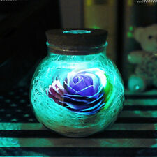 13 Colors Rose Light Bottle Creative Romantic RGB LED Dimmer Spotlight Bulb