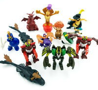 Lot de 11 Figurines / Jouets - Arthur, Spyro, Bakugan, Beyblade ...