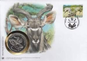 Numisbrief WWF 2008 Zambia - Tragelaphus Strpsiceros / Koedoe (019)