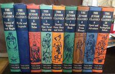 Collier Junior Classics The Young Folks Shelf Of Books 9 Volume Set 1938, 1948
