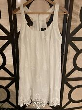 BNWT Forever New Layla Lace Dress White Size 14