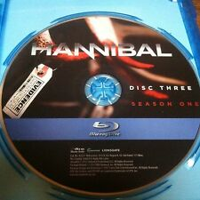 Hannibal Blu-Ray Season 1 Disc 3 Replacement Disc DVD ONLY