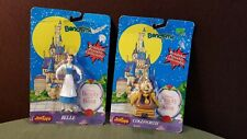Beauty & The Beast Belle Cogsworth Bendable Figurines