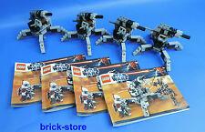 LEGO Star Wars (9488) Clone Trooper Cañón / 4 Piezas (sin figuras)