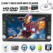 2 Din HD Car Stereo DVD Player GPS Navigation Bluetooth Auto Radio iPod+8G map
