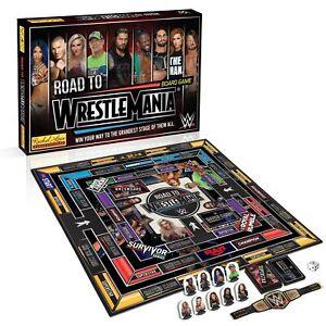 WWE Road to Wrestlemania Board Game Rachel Lowe Gift NEW
