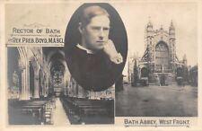 Bath Abbey, West Front, Rector of Bath Abtei