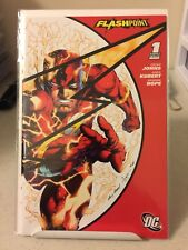 FLASHPOINT #1 SDCC 2011 Wrap Cover Rare Variant  Flash Movie NM! SHIPS FREE!