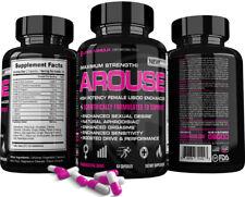 Arouse™ Best Women's Libido Enhancer Supplement Sex Pills Female Aphrodisiac