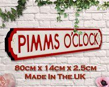 Pim's O'clock Vintage Road Sign / Street Sign