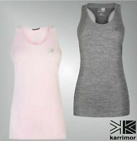 Ladies Karrimor Racer Back Scoop Neck Breathable Stylish Vest Top Sizes 8-16