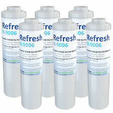 Refresh Water Filter - Fits KitchenAid KFCS22EVMS4 Refrigerators (6 Pack)