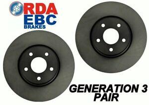 Nissan Bluebird 910 All Models 1981-1986 FRONT Disc brake Rotors RDA609 PAIR