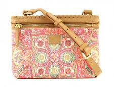 Oilily Whip Stitch S Flat Shoulder Bag Coral
