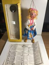 Vintage Pelham Puppets Tyrolean Girl  Within Its Original Box