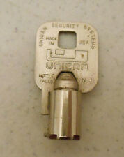 Unican Security Systems Tubular Key Vending Slot Other # 03474 Little Falls N.J.