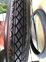 BLACKWALL Bicycle tires OLD SCHOOL Goodyear TREAD  fit  26 x 2.125 Balloon tires