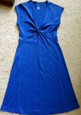 Patagonia womens blue sleeveless dress S small stretchy travel