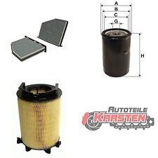 Set M: Innenraumfilter+Ölfilter+Luftfilter Inspektionspaket AUDI SEAT SKODA VW