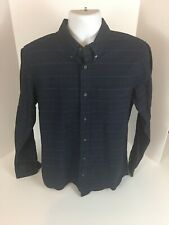 Jack Spade Standard Cuffs Men's Dress Shirt Size Large Button Down Striped