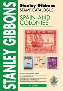 Spain & Colonies Stamp Catalogue - Stanley Gibbons 344 pages 2019 Edition - SAVE