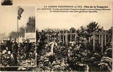 CPA  La Guerre Européenne de 1914 - Féte de la Toussaint -Tombes(222559)