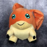 """DIGIMON Patamon Soft Toy Plush Digital Monsters Play By Play 1999 Approx 9"""""""