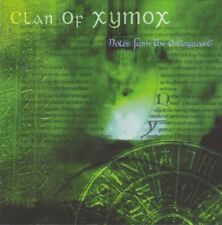 CLAN OF XYMOX Notes From The Underground CD 2001 (Metropolis Records)