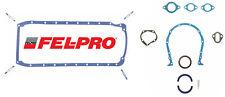 FEL PRO Rubber Oil Pan Gasket OS30061T+RACE 2703 for Chevy 396 427 454 2PC Rear