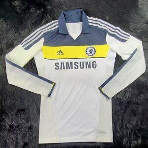 Adidas Chelsea Football Club Jersey Premier League Tech Fit Long Sleeve (10)