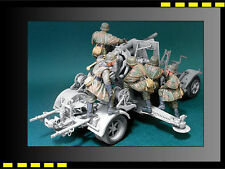 Resin figure Kit Hobbyfan 1/35 8.8cm Flak Crew Set3 (Firing At March) x5 HF571