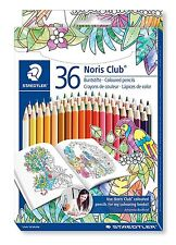 Staedtler Noris Club Coloured Pencils Set Of 36 Johanna BASFORD Edition 144D36JB