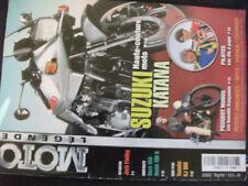 ** Moto Légende n°123 Poster Suzuki 1100 Katana 1980 / Peugeot 350 et 500