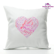 Happy Mother's Day Heart Cushion, Mother's Day Gift, Mother's Day Present