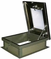 Lane-Aire Aluminum Roof Hatch With Skylight - 30 x 36
