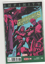 Guardians of the Galaxy (Volume 3) #8 Brian Bendis Infinity Thanos 9.6
