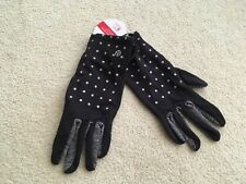 Lululemon Run With Me Gloves Reflective Dot Black M/L