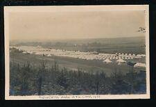 Hants Hampshire TIDWORTH Park OTC Camp 1929 Military RP PPC