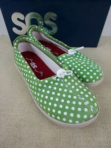 SAS FUNK VERDE DOT WOMENS TRIPAD COMFORT SHOE New in BOX