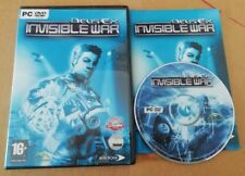 (EIDOS/ION STORM) DEUS EX 2: INVISIBLE WAR - ORIGINAL PC/WINDOWS GAME - RARE!