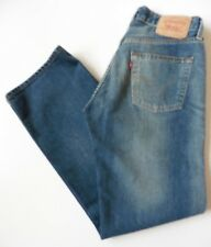 Men's Levis 508 Relaxed Fit Jeans W28 L32 Blue Size 28R Levi Strauss Loose