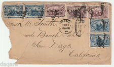 BB.97 - US cover, 1894, Scott # 230, # 231