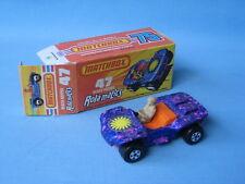 Lesney Matchbox 47 VW Beach Hopper Rola-Matic Pink Base Boxed VW Volkswagon Car