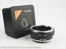 K&F Concept OM to M43 Adapter Olympus OM to Micro Four Thirds MFT Adapter