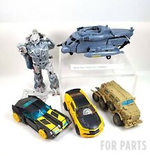 TRANSFORMERS Parts Lot: BumbleBee Blackout Bonecrusher Megatron Fusion Blast