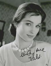 Shirley Anne Field Signed 8x10 Photo -Star of THE ENTERTAINER - STUNNING!!! G703