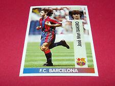 JOSE MARI BAKERO FC BARCELONA PANINI LIGA 96-97 ESPANA 1996-1997 FOOTBALL