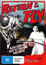 Return of The Fly-DVD (1959) Vincent Price, Brett Halsey, John Sutton-NEW