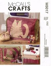 McCall's Sewing Machine Cover and Accessories Pattern M5017 UNCUT